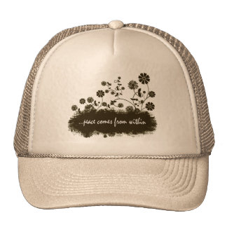 Peace comes from within hat