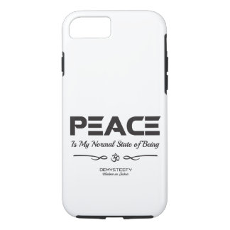 PEACE COMMUNICATE iPhone 8/7 CASE