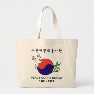 Peace Corps Korea Jumbo Tote