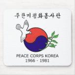 Peace Corps Korea Mouse Pad (Horizontal)