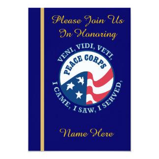 Peace Corps VVV Retirement Invitation