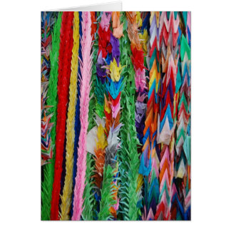 Peace Cranes Card