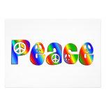 PEACE CUSTOM INVITES