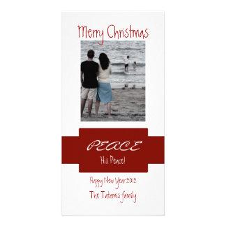 Peace Custom Photo Card