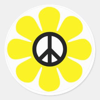 Peace Daisy Sticker