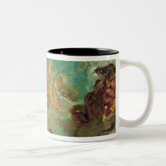 Peace Descending to Earth Two-Tone Coffee Mug