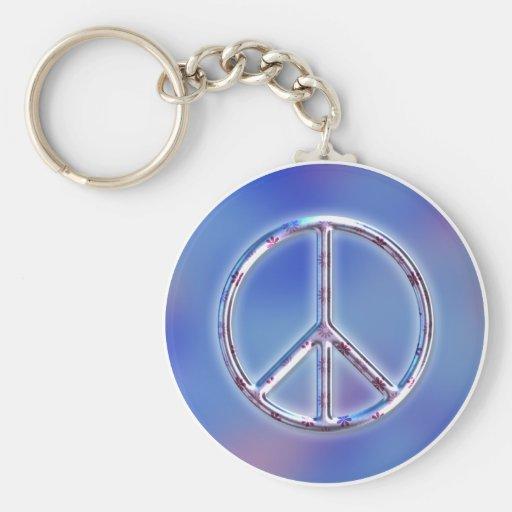 Peace Design 2 Key Chains
