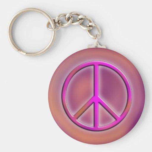 Peace Design 4 Key Chains