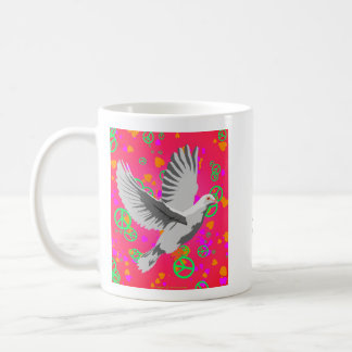 Peace Dove - Can't We All Just Get Along? Coffee Mug