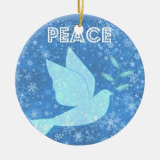 Peace Dove Christmas Decoration
