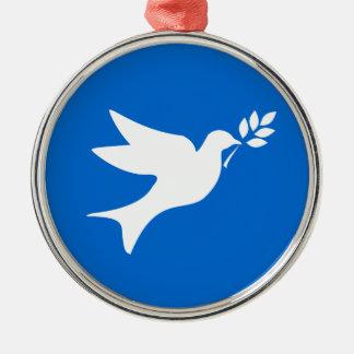 Peace Dove Christmas Ornament