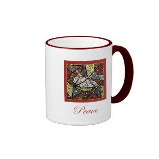 Peace Dove (Holy Spirit) Ringer Mug