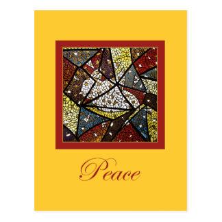 Peace Dove Holy Spirit Symbol Religious Christmas Postcard
