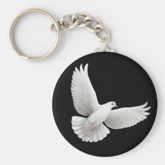 Peace Dove Keychain