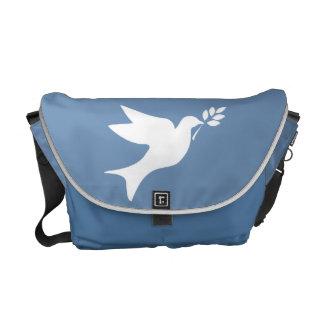 Peace Dove Messenger Bags