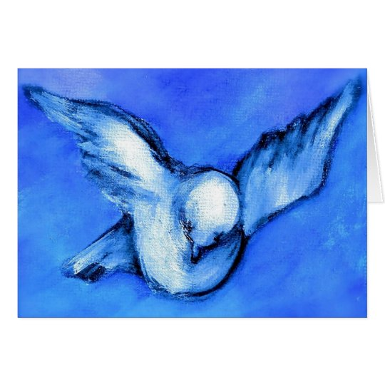 Peace Dove-Original Art by SQ Streater Card