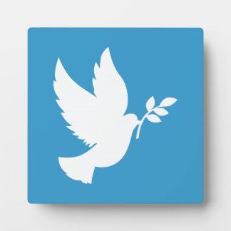 Peace Dove Plaque