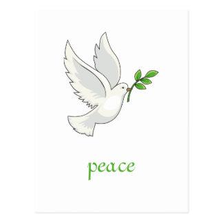 Peace Dove Postcard Post Cards