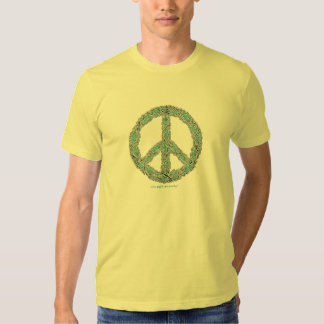 Peace dove sign cool graphic art t-shirt design