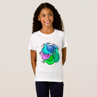 Peace Doves & Olive Branches, Girl's T-Shirt