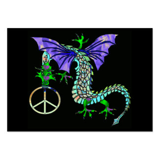 Peace Dragon Pack Of Chubby Business Cards