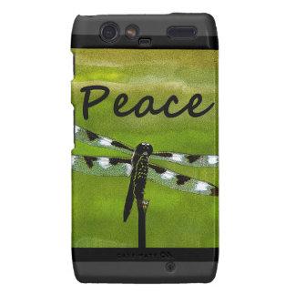 Peace Dragonfly Motorola Droid RAZR Case