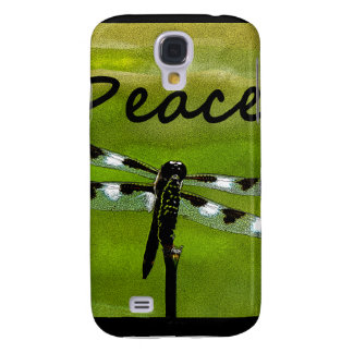 Peace Dragonfly Galaxy S4 Cases
