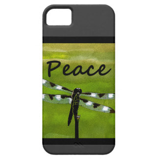 Peace Dragonfly Case For The iPhone 5