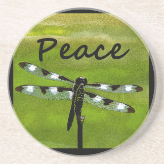 Peace Dragonfly Coasters