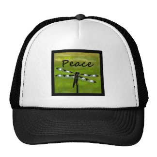 Peace Dragonfly Hat