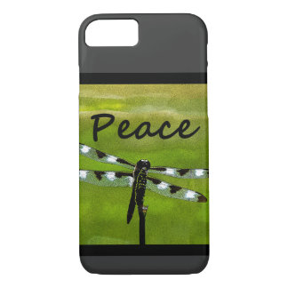 Peace Dragonfly iPhone 7 Case