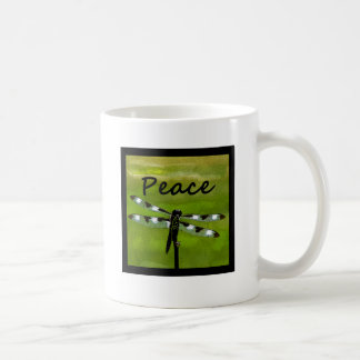 Peace Dragonfly Coffee Mug