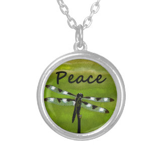Peace Dragonfly Pendant
