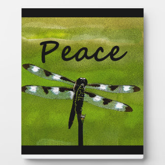 Peace Dragonfly Plaques