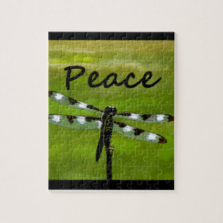Peace Dragonfly Jigsaw Puzzles