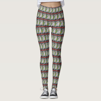 Peace Eagle Pattern Leggings