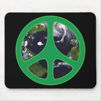 Peace Earth Mouse Pads