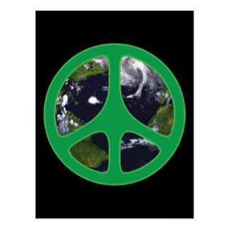 Peace Earth Postcard