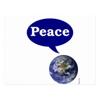 Peace Earth Post Cards