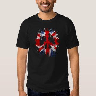 peace england tee shirts