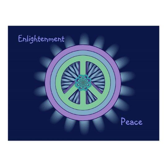 Peace & Enlightenment Lotus Postcard