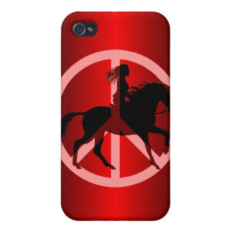 peace equestrian cover for iPhone 4