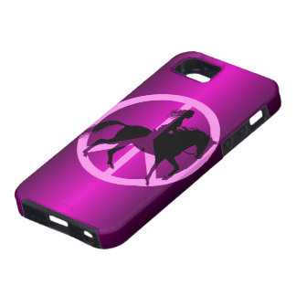 peace equestrian iPhone 5 covers