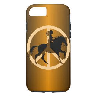 peace equestrian iPhone 7 case