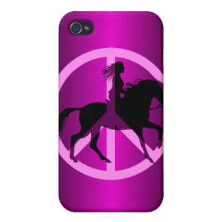 peace equestrian iPhone 4 cover