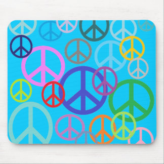 Peace Everywhere Mouse Mat