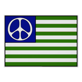 Peace Flag Poster