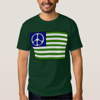 Peace Flag T Shirt