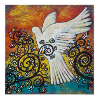Peace Flew In Poster