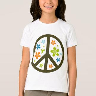 Peace Floral Design Shirt